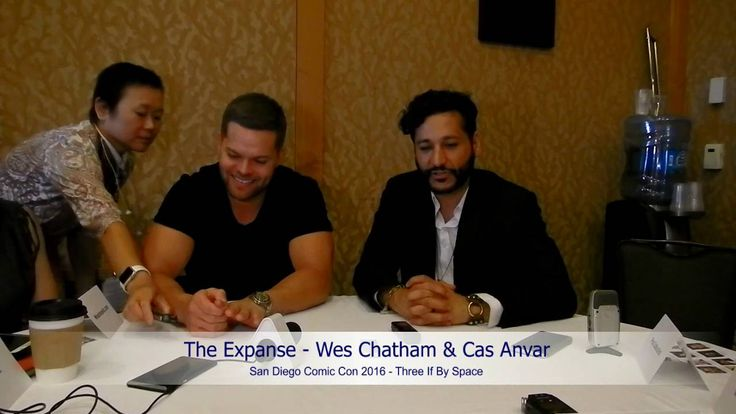SDCC 2016 - The Expanse: Wes Chatham & Cas AnvarGood interview was being held at SDCC 2016 with Wes Chatham & Cas Anvar talking about The Expanse.