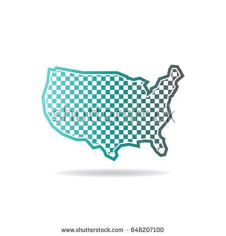 Best Maps USA States Counties Cities Logo Images On - Us map logo