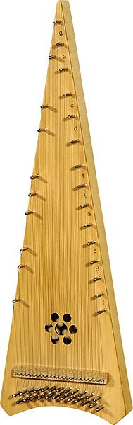 Hora Alto Psaltery Bowed Including Bow And Padded Bag at the Early Music Shop