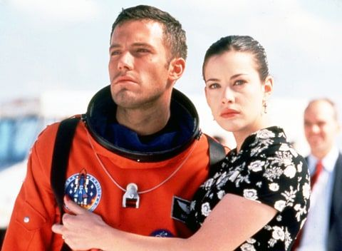 Liv Tyler shared a throwback photo with Ben Affleck from the stars' 1998 movie, Armageddon!