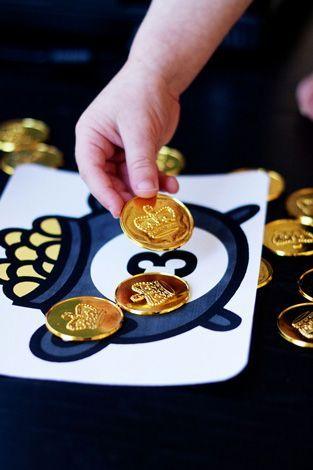 Counting Leprechaun Gold