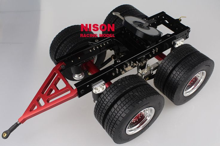1/14 RC Biaxial Dolly