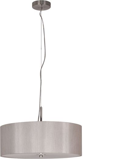 Candice 500mm 3 Light Pendant - Satin Silver, Pendants, Contemporary, New Zealand's Leading Online Lighting Store
