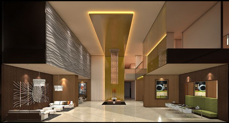 hotel lobby design draft 2 my work my designs