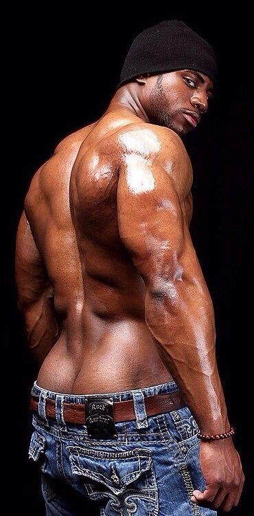 Big Muscles, Muscle Men, Black Man, Hot Chocolate, Black Beauty, Sexy Men,  Sexy Guys, Hot Guys, Chocolates