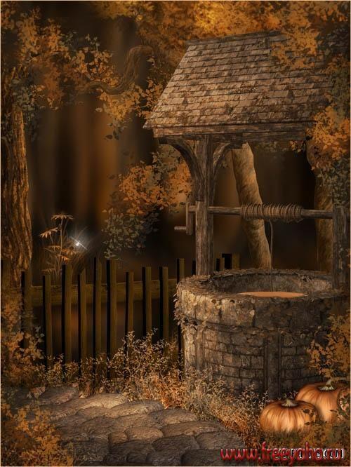 Autumn Fairy Backgrounds | ... фоны от Jaguarwoman | Fairy Autumn Beauty backgrounds