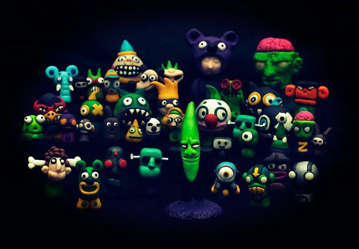 Mr. Green fimo version by MaComiX.deviantart.com on @DeviantArt