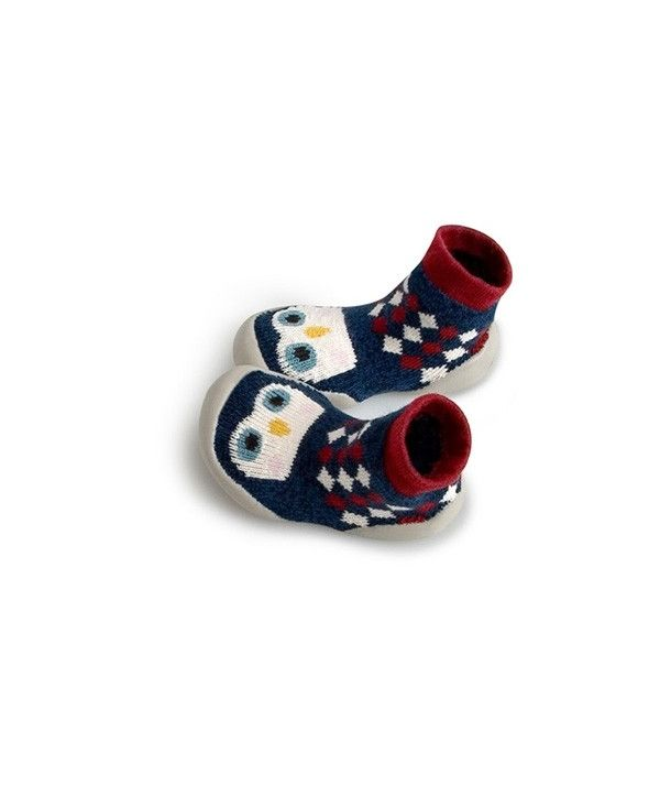 Collegien Slipper Socks Petits Pingouins small penguins