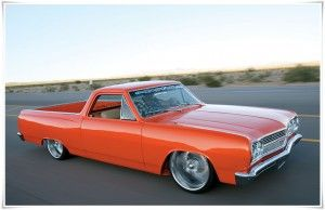 1964〜1967年に製造されたモデル「シボレー エルカミーノ」くるまエルカミーノ