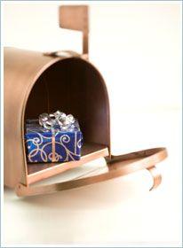 Születésnapi meglepetés! Ajándék a postafiókban.