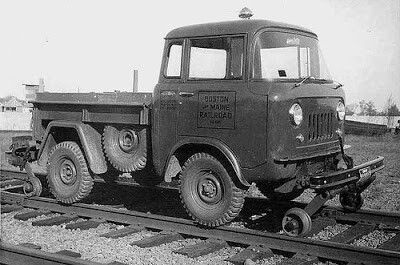 Jeep FC150 track Inspection vehicle.