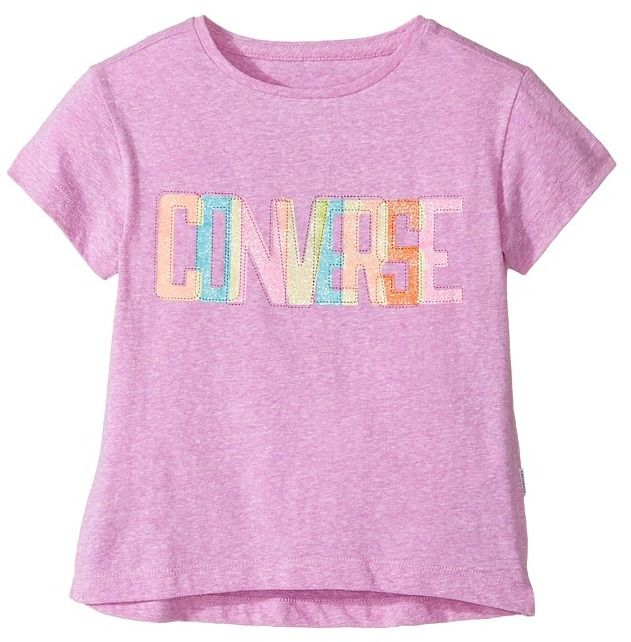 Converse Neon Lights Boxy Tee (Toddler/Little Kids)