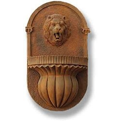 Lion Wall Outdoor Fountain   The Lion Wall Fountain Is A Large, Durable Yet  Lightweight Garden Fountain That Is Sure To Make Quite An Impression Upon  Your ...
