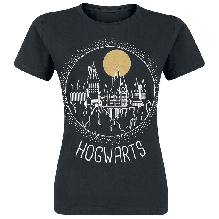 Circular Hogwarts - T-Shirt von Harry Potter