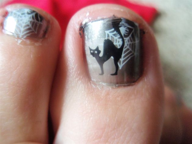 Toes Nail Art - Nail Art Gallery by NAILS Magazine