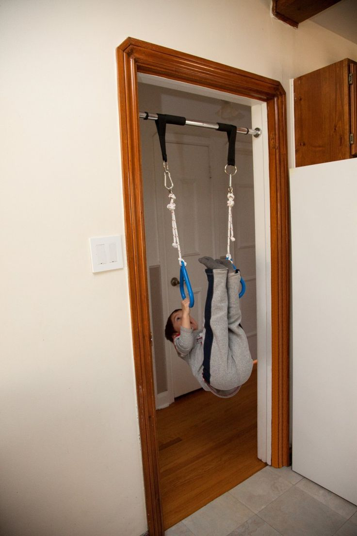 Indoor Swing by DreamGYM | Doorway Gym with Chin Up Bar, Trapeze Bar & Gym