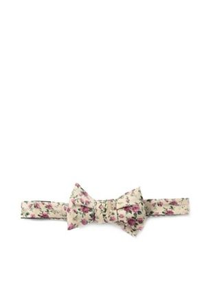 63% OFF Cotton Treats Men's Alfie Reversible Bow Tie, Pink/Brown