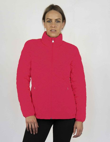 Moke Quilted Packable Jacket - Lipstick – Sally Anne