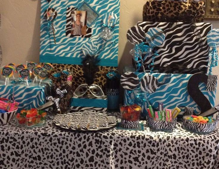 Zebra and cheetah party