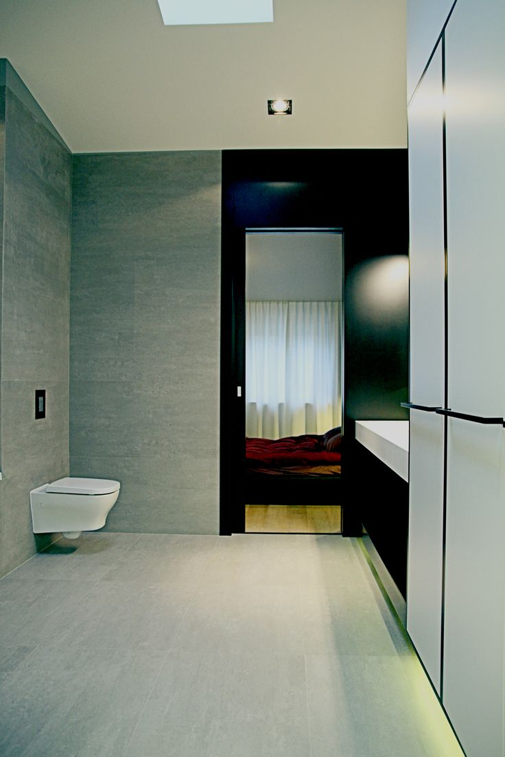 Loft project bathing room. Warsaw, Poland. www.artandarchitecture.pl