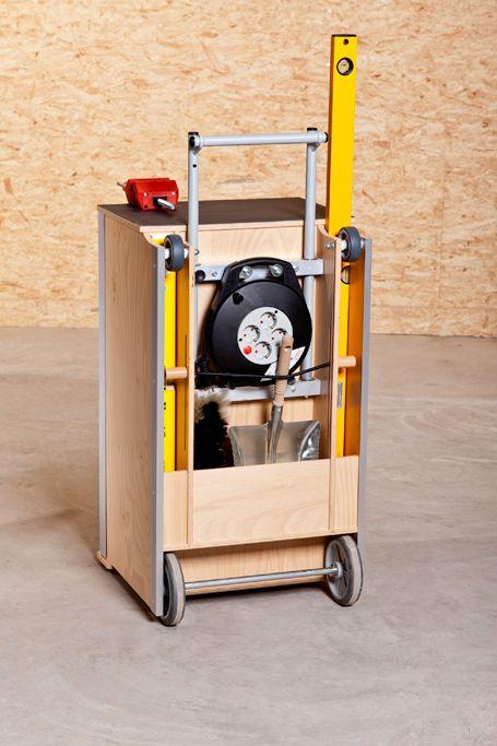 Montagetische Einemann | Arbeitsplatzsysteme | Werkstatt- & Montagetrolley
