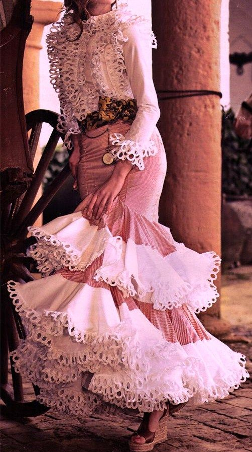 486 best taurino images on pinterest flamenco costume for Flamenco style wedding dress