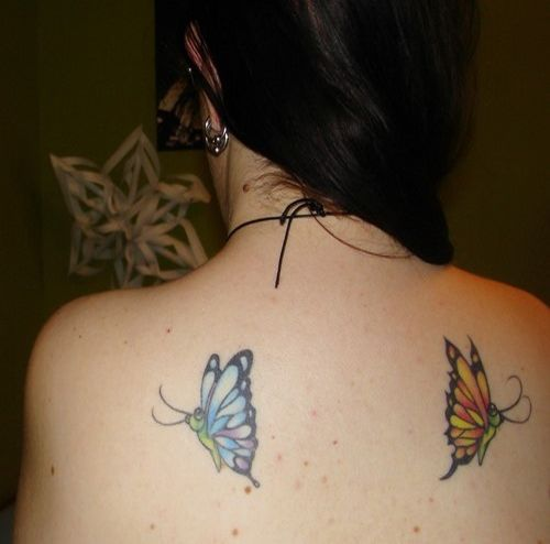 Unique Shoulder Tattoos For Women: Best 25+ Unique Butterfly Tattoos Ideas On Pinterest