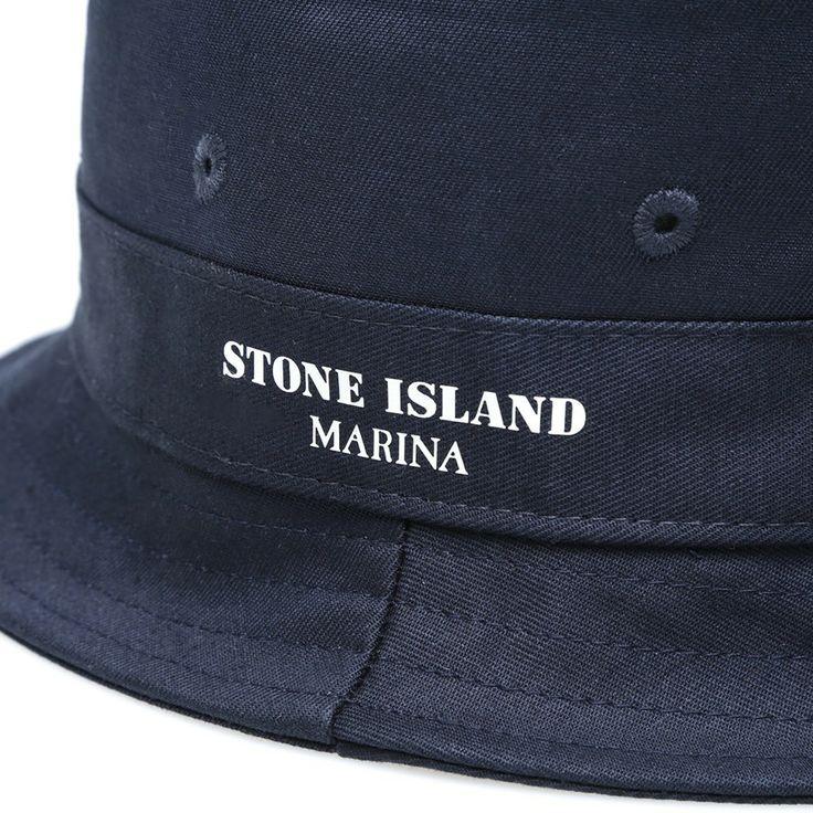 Stone Island Marina Bucket Hat (Navy)