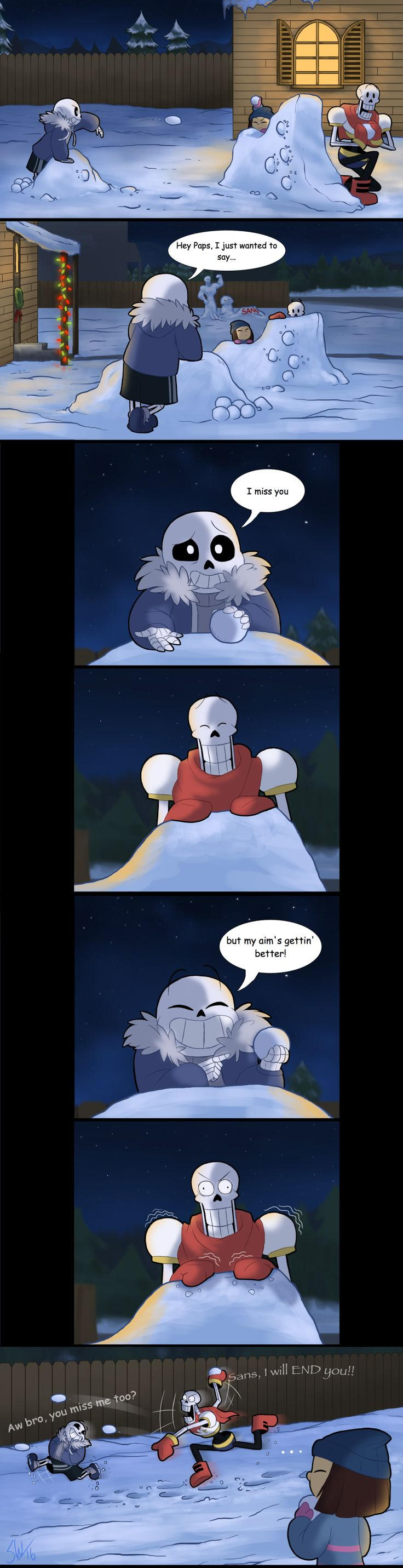 Undertale - I Miss You by TC-96.deviantart.com on @DeviantArt