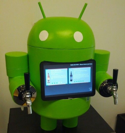 KegDroid : une tireuse à bière sous Android