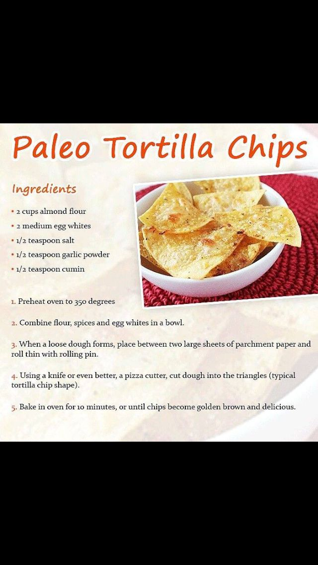 Paleo Tortilla Chips