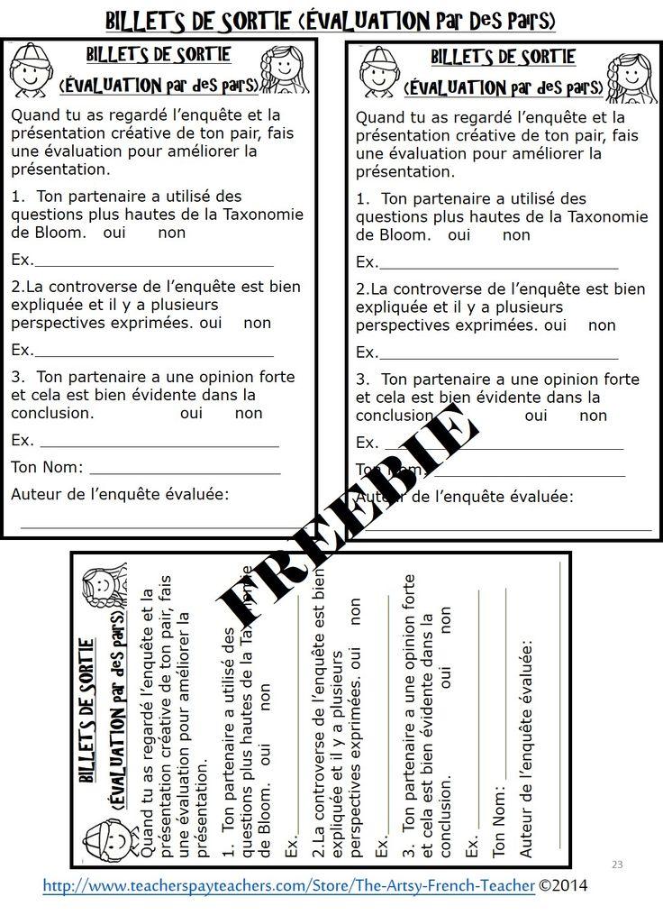 Voilà 5 organigrammes gratuits de la Ressource: Les Études sociales de l'Ontario et le processus de l'enquête, 1ère à 8ème année. S.S. INQUIRY-BASED LEARNING en français!