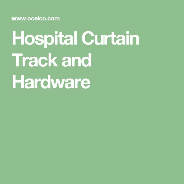 Hospital Curtain Track and Hardware