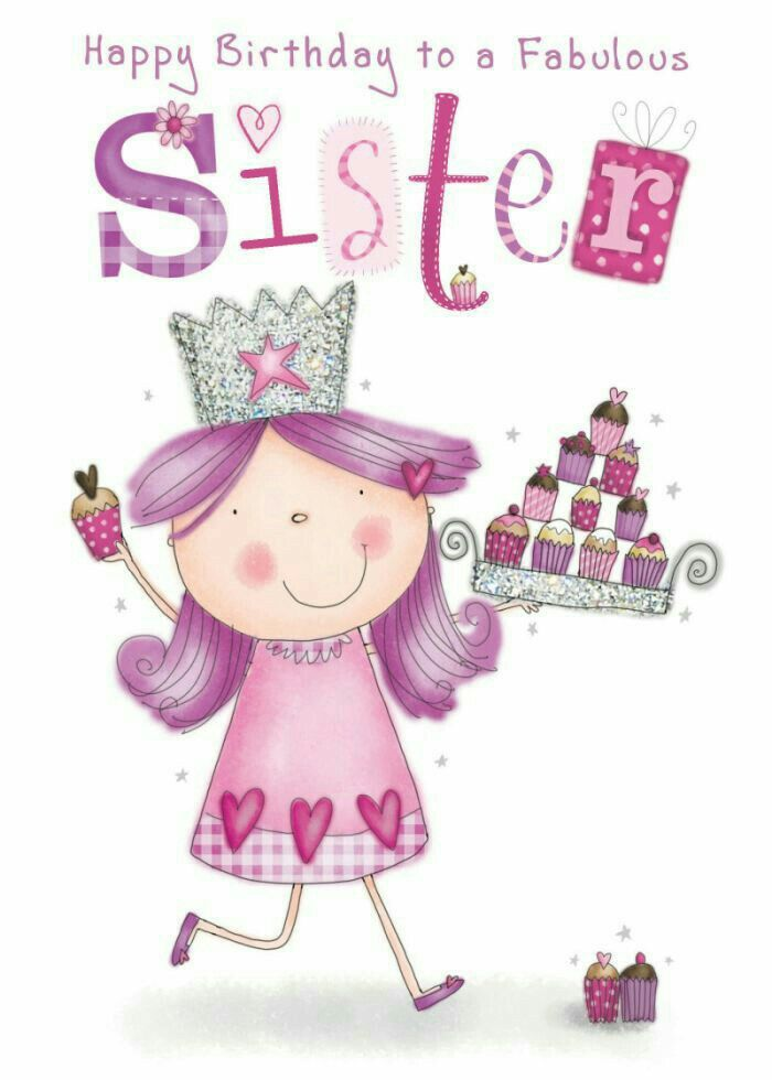 The 25 best Happy birthday sister cake ideas – Happy Birthday to My Sister Cards