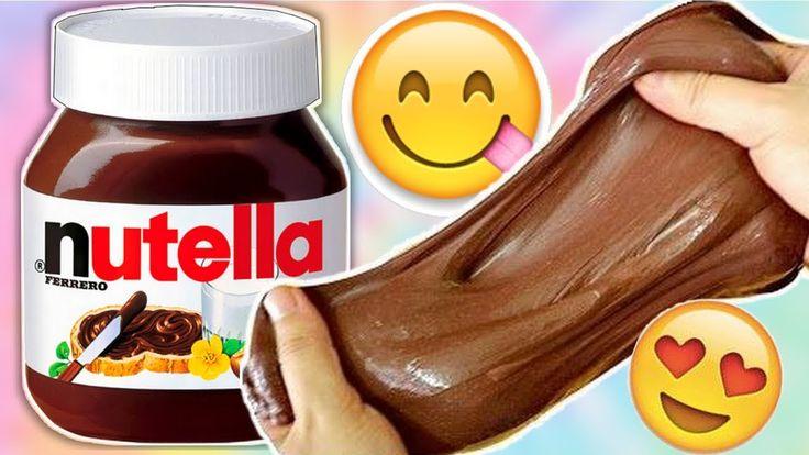 comment faire du slime comestible au nutella tuto. Black Bedroom Furniture Sets. Home Design Ideas