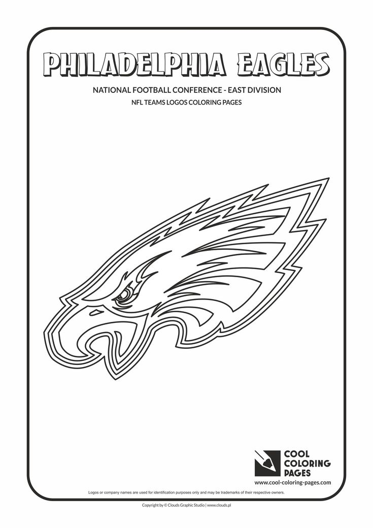 Cool Coloring Pages Nfl American Football Clubs Logos Football Logos Coloring Pages