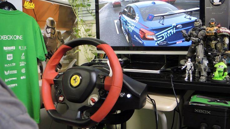 [35] XboxOne Forza 6 Racing Wheel Nürburgring  2015 Subaru WRX STi ニュルブル...