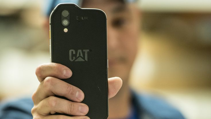 Cat S61 rugged smartphone beefs up spec and thermal imaging camera