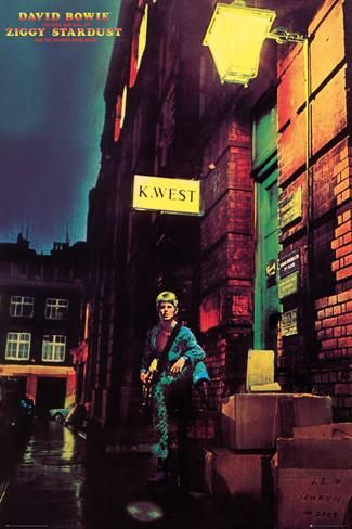 David Bowie- Ziggy Stardust Album Cover Posters at AllPosters.com