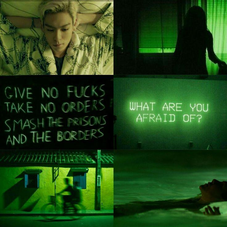 T.O.P - Big Bang. Moodboard
