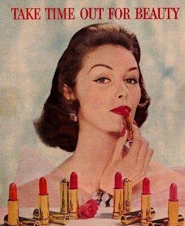 RedApple Pin-ups: História da Maquiagem - Década de 40 e 50