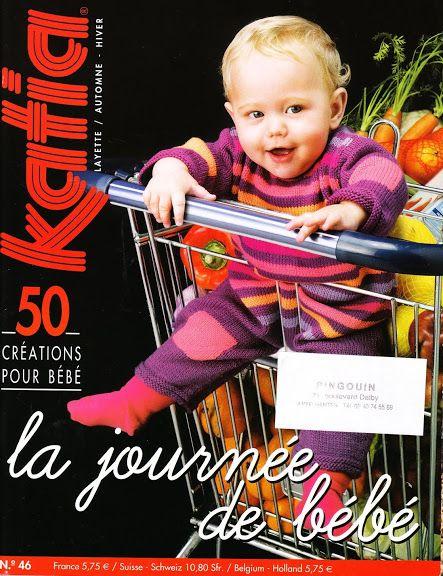 katia n°46 layette-la journee de bebe- automne hiver