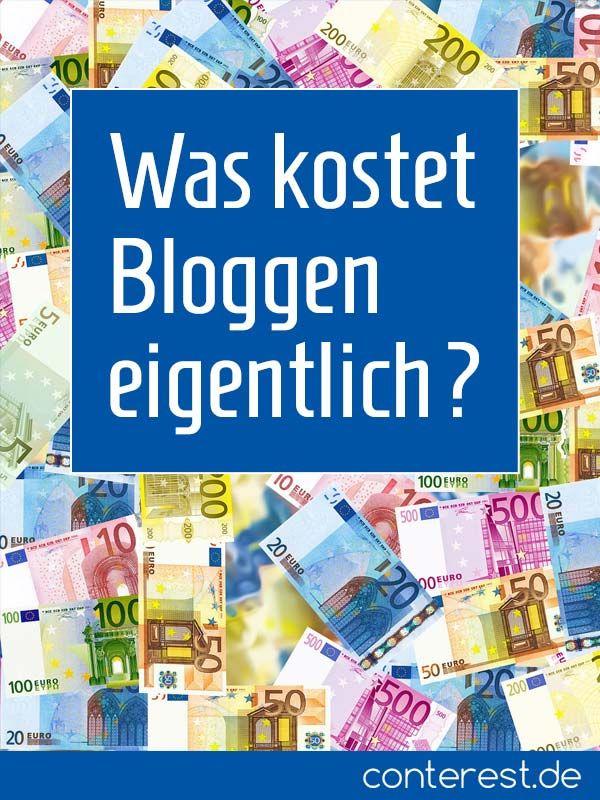 Was kostet Bloggen eigentlich? Hier sind die Zahlen  Reden wir über Geld. Auch ein Hobby kostet. Und wenn du eines Tages groß rauskommen und deinen Lebensunterhalt mit Bloggen verdienen willst, dann wirst du nicht nur investieren müssen.   Bloggen ist gratis, wenn du es willst. Trägst du dich aber mit Ambitionen oder willst ein Geschäft aufbauen, kommst du um Investitionen und laufende Postne nicht herum. Also, welche Kosten können anfallen? Womit muss man rechnen?
