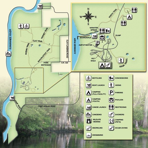 Manatee Springs State Park Open All Year Round Just 6