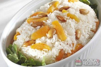 Receita de Arroz com amêndoas em receitas de arroz, veja essa e outras receitas aqui!
