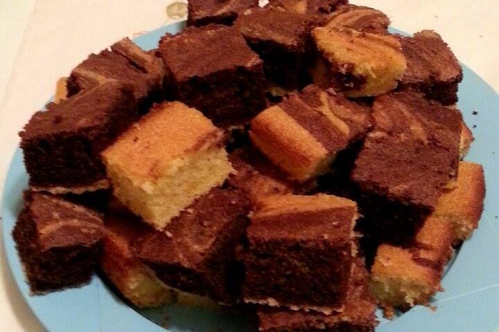 Kakaós-rizslisztes olcsó kevert gluténmentes sütemény