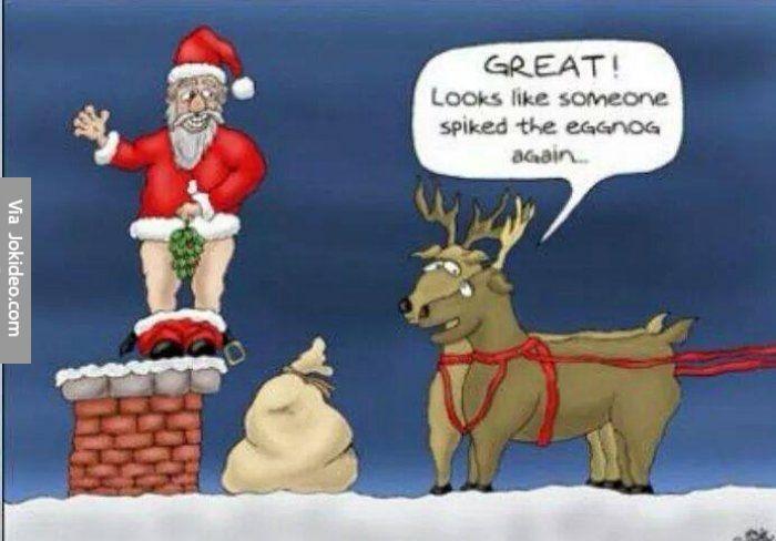 Funny christmas santa cartoon - http://www.jokideo.com/funny-christmas-santa-cartoon/