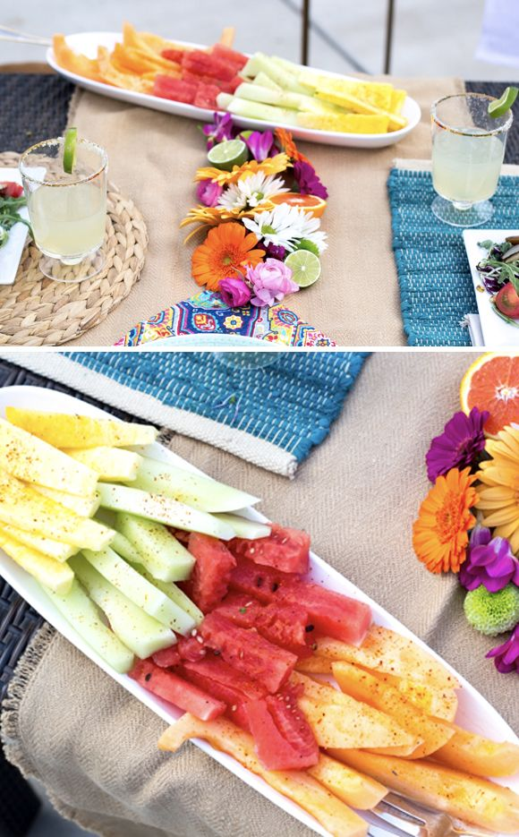 This Cinco de Mayo backyard party is full of color and simple Cinco de Mayo party food ideas that you can easily make yourself.