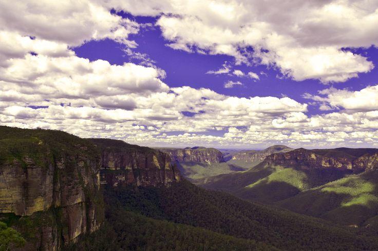 Die kalten Blue Mountains und Sydney