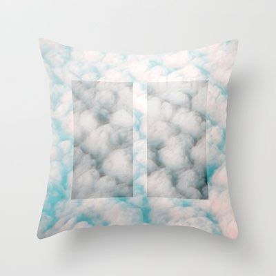 Pause Throw Pillow by Okti - $20.00